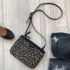🔴 5/$25 • NINE WEST | Crossbody Leopard Bag